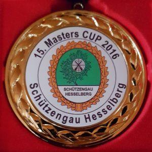 Die Medallie für Platz 4 und darauf folgende