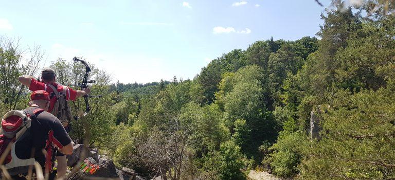 Ausflug zum 3D Bogenparcours in Treuchtlingen
