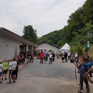Über 100 Schützen fanden sich am Samstag und Sonntag zur Bayrischen Meisterschaft 3D ein.