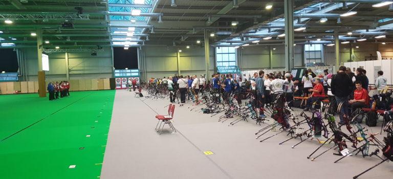 Bayrische Meisterschaft Halle 2019 auf der Augsbow in Augsburg